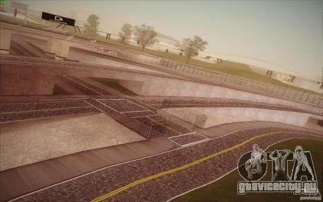 New roads San Fierro для GTA San Andreas девятый скриншот