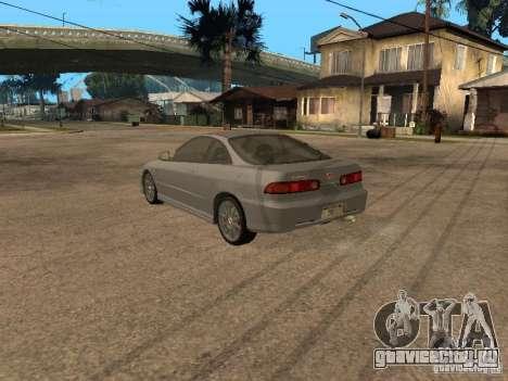 Honda Integra 2000 для GTA San Andreas вид сзади слева
