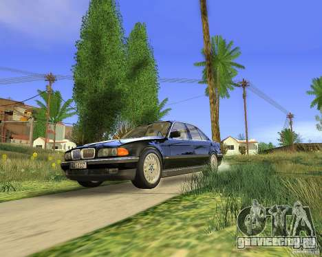 BMW 730i E38 1996 для GTA San Andreas