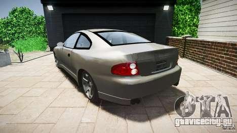 Pontiac GTO 2004 для GTA 4 вид сзади слева