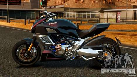 Ducati Diavel Carbon 2011 для GTA 4 вид слева