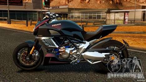Ducati Diavel Carbon 2011 для GTA 4 вид слева