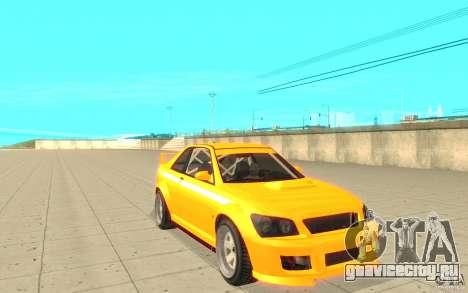 Sultan RS из GTA 4 для GTA San Andreas