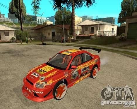 Subaru Impreza WRX STi D1 Spec для GTA San Andreas