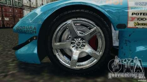 Mazda RX-7 RE-Amemiya v2 для GTA 4 вид сбоку