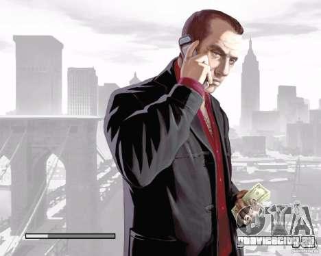 Загрузочные экраны в стиле GTA IV для GTA San Andreas шестой скриншот