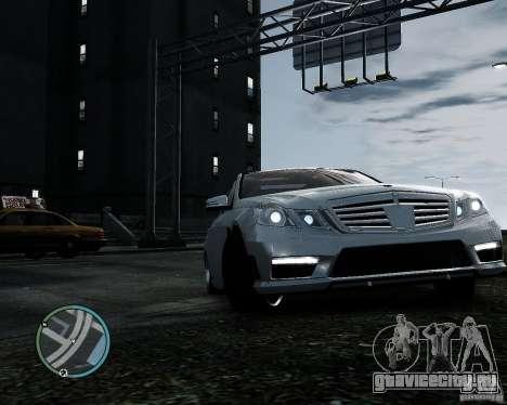 Mercedes Benz B63 S Brabus v1.0 для GTA 4 вид справа