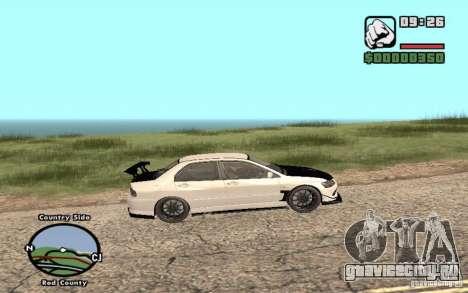 Mitsubishi Lancer Evolution 8 Carbon для GTA San Andreas
