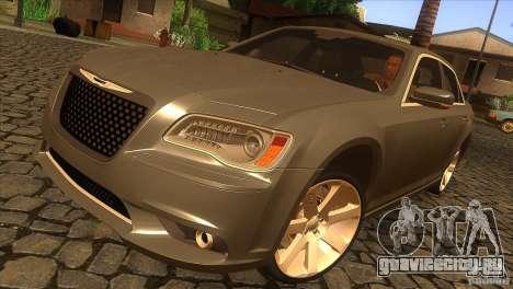 Chrysler 300 SRT-8 2011 V1.0 для GTA San Andreas вид сверху