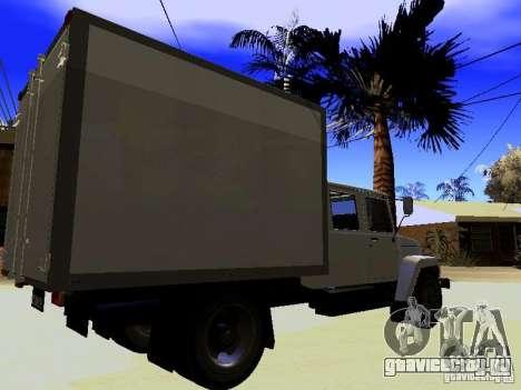 ГАЗ 3309 Егерь для GTA San Andreas вид слева