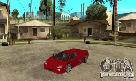SSC Ultimate Aero Stock version для GTA San Andreas