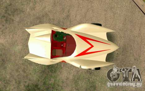 Mach 5 для GTA San Andreas вид сзади