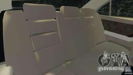 Honda Acura RL для GTA 4 вид изнутри