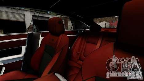 Jaguar XJ 2012 для GTA 4 вид сверху