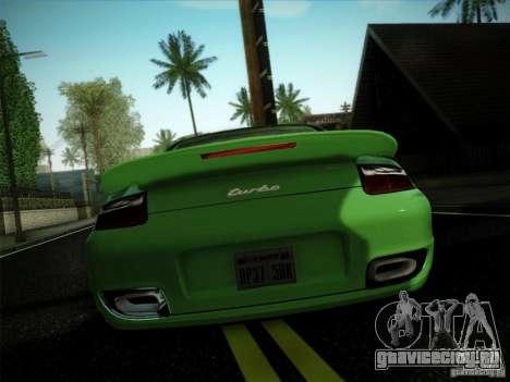 Porsche 911 (997) turbo для GTA San Andreas вид слева