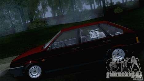 ВАЗ 2109 Сток Final для GTA San Andreas вид справа