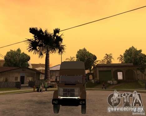 СуперЗиЛ v.2.0 для GTA San Andreas вид сзади