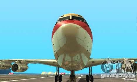 Boeing 707-300 для GTA San Andreas вид справа