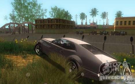 AMC Javelin 2010 для GTA San Andreas вид сверху