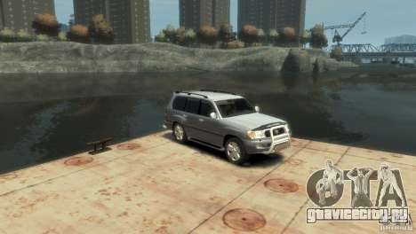 TOYOTA LAND CRUISER 100 для GTA 4 вид справа