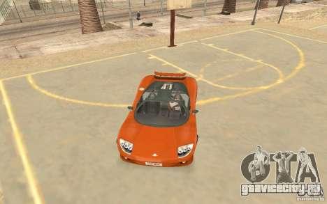 Автомобиль Veloche для GTA San Andreas вид слева