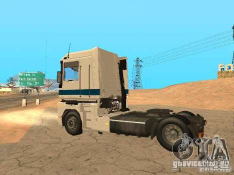 Renault Magnum Sommer Container для GTA San Andreas вид изнутри