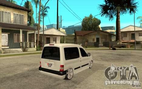 Citroen Berlingo 2007 для GTA San Andreas вид справа