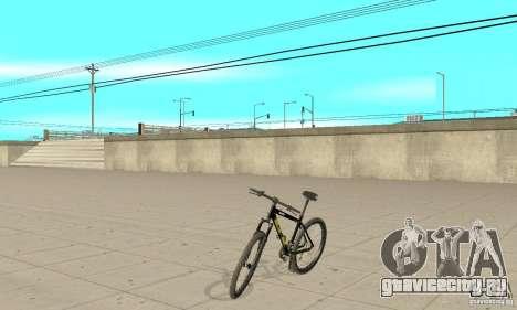 GT Dirtbike v.2 для GTA San Andreas вид сзади слева