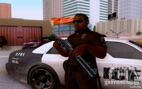Полицейский из CoD: BO2 для GTA San Andreas пятый скриншот