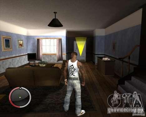 Новая майка для CJ для GTA San Andreas второй скриншот