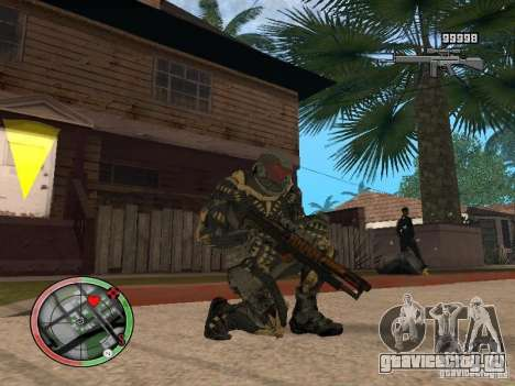 Сборник оружий Crysis 2 для GTA San Andreas третий скриншот