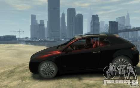 Alfa Romeo Brera для GTA 4 вид слева