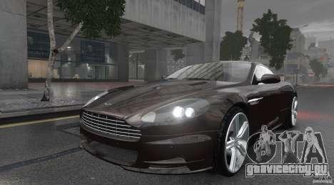 Aston Martin DBS v1.0 для GTA 4 вид сзади слева
