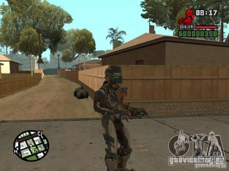 Костюм из игры Dead Space 2 для GTA San Andreas пятый скриншот