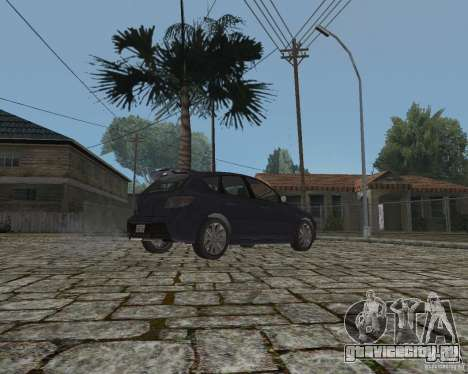 Mazda Speed 3 для GTA San Andreas вид справа