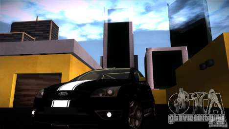 Ford Focus 2 Coupe для GTA San Andreas вид справа