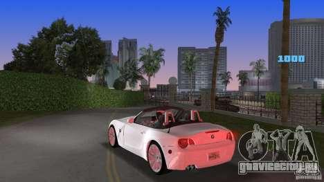 BMW Z4 2004 для GTA Vice City вид сзади слева