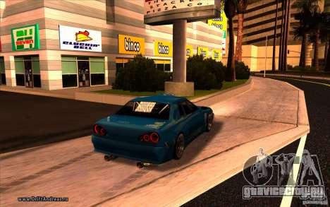 ENBSeries by MEdved для GTA San Andreas третий скриншот