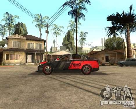 Audi RS4 Grip для GTA San Andreas вид слева