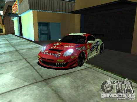 Porsche Cayman S NFS Shift для GTA San Andreas вид справа