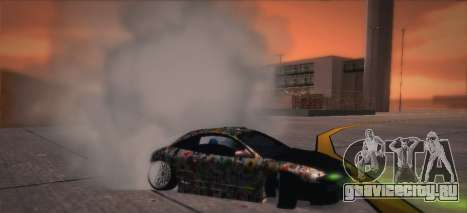 Mitsubishi Eclipse 1997 Drift для GTA San Andreas