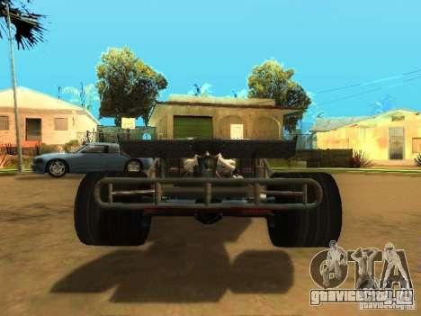 Fast & Furious 6 Flipper Car для GTA San Andreas вид сбоку