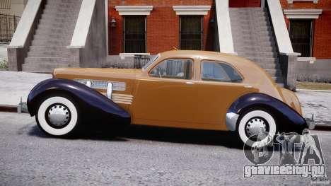 Cord 812 Charged Beverly Sedan 1937 для GTA 4 вид слева