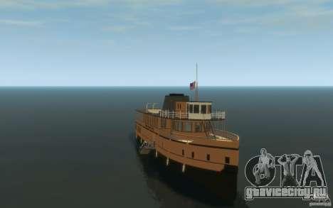 Staten Island Ferry для GTA 4 вид сзади