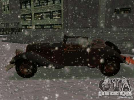 Авто из игры Саботаж для GTA San Andreas вид слева