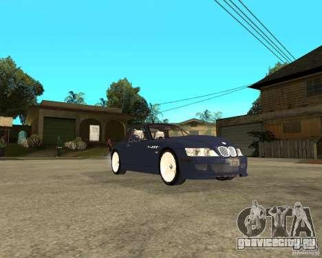 BMW Z3 Roadster для GTA San Andreas вид справа