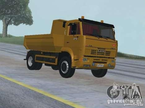 КамАЗ 53605 TAI version 1.1 для GTA San Andreas вид сзади