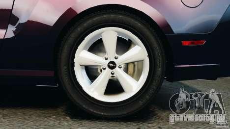 Ford Mustang 2013 Police Edition [ELS] для GTA 4 вид сверху