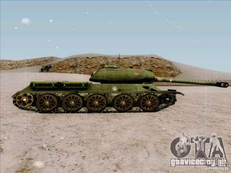 Т-34 для GTA San Andreas вид слева