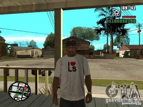 Футболка Rammstein v2 для GTA San Andreas четвёртый скриншот